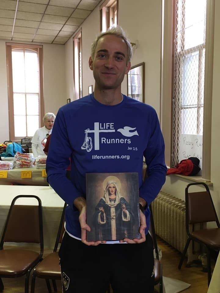 Michael Horn LIFE Runners Challenge Champion